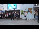 Классный корейский микс танца и боевых искусств