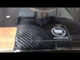 Изготовление карбоновой визитки